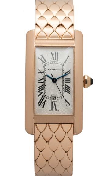 Moda Operandi Stephanie Windsor One Of A Kind Cartier Tank Americaine Watch
