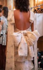 Moda Operandi Brock Collection Large Bow Silk Belt