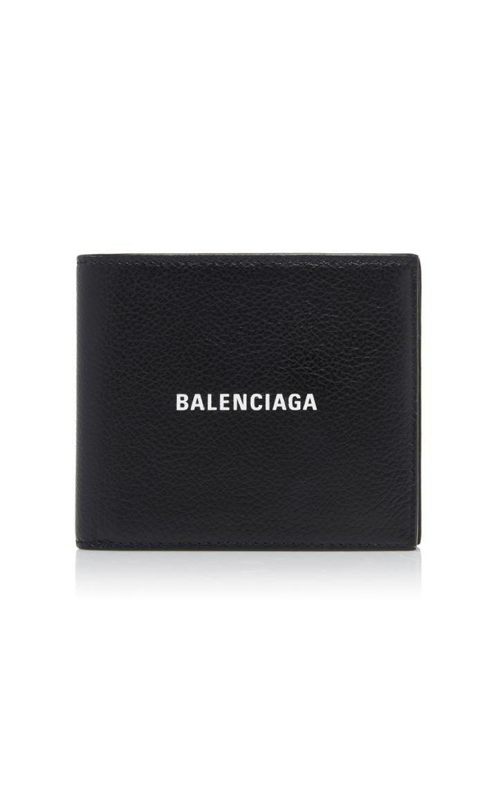Balenciaga Leather Foldover Wallet