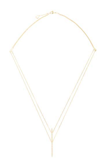 Qayten X.f. Yellow Gold Necklace