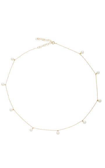 Mateo Delicate Pearl Necklace