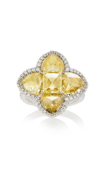 Simon Teakle Yellow Diamond Ring