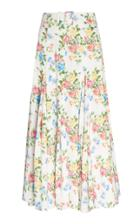 Emilia Wickstead Quin Belted Midi Skirt