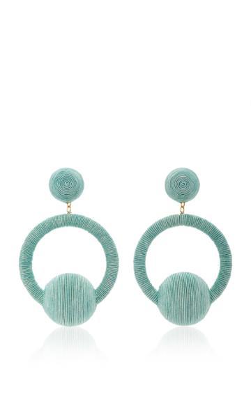 Rebecca De Ravenel Yasmin Hoop La La Earrings