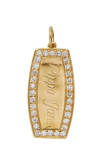 Moda Operandi Emily & Ashley Monogrammable Script Letters Diamond Charm