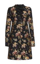 Rochas Fil Coupe Floral Coat