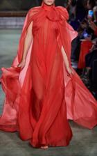Moda Operandi Brandon Maxwell Silk Chiffon Gown