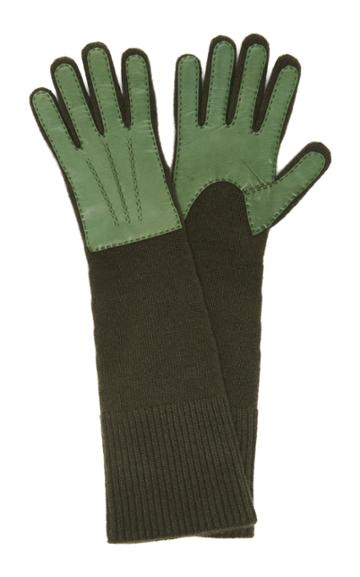 Jacquemus Long Rib-knit Gloves