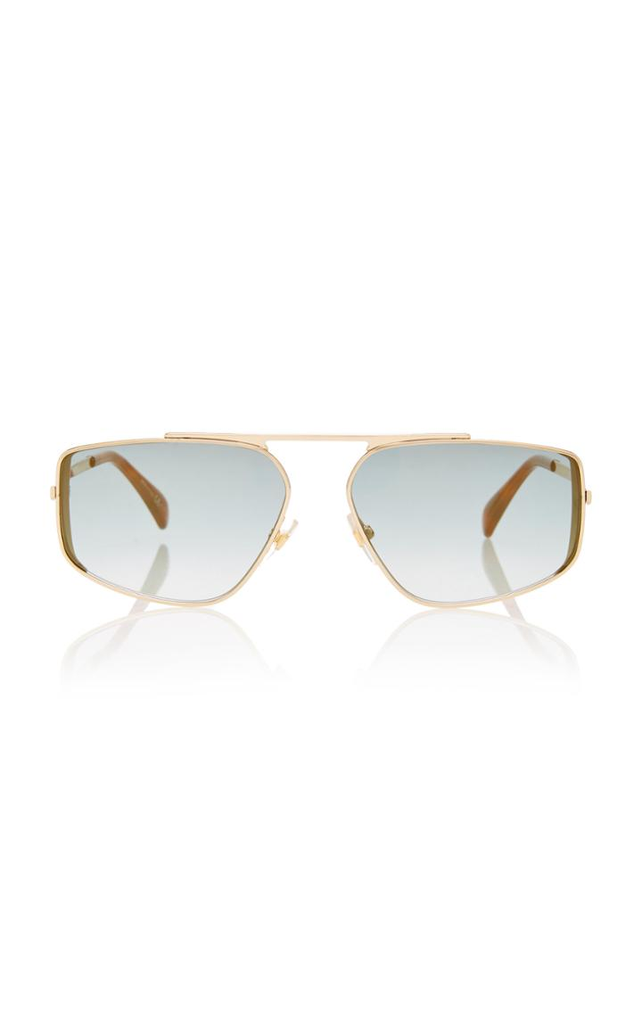 Givenchy Sunglasses Metal Aviator-style Sunglasses