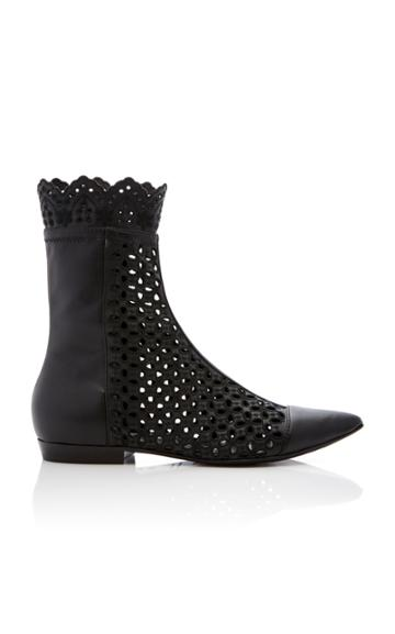 Philosophy Di Lorenzo Serafini Broder Anglaise Flat Ankle Boot
