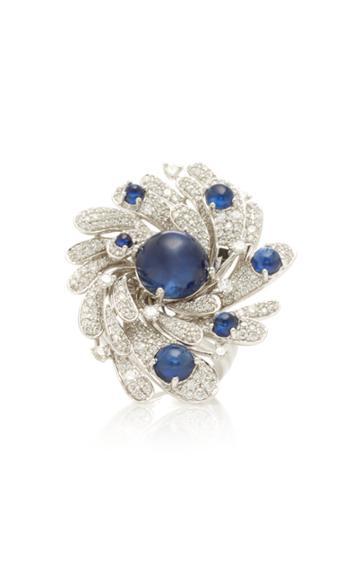 Hueb Oceanum Sapphire Ring