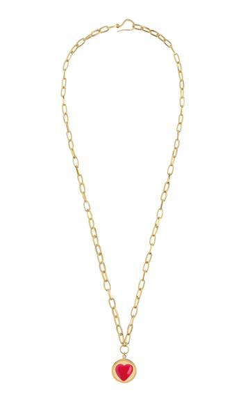 Wilhelmina Garcia Gold-plated Heart Necklace