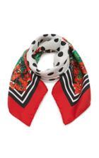 Moda Operandi Dolce & Gabbana Multi-print Silk-twill Scarf