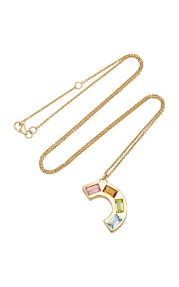 Brent Neale M'o Exclusive Medium Deconstructed Rainbow Necklace