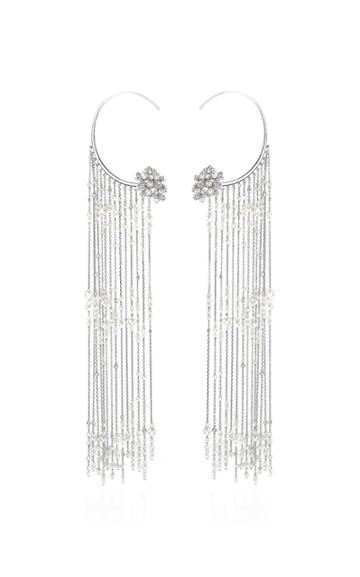 Tatiana Verstraeten Rain Pearl Fringe Earrings