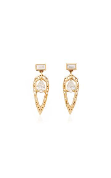 Hueb Diamond Drop Earrings