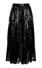 Anouki Sequin Pleated Skirt