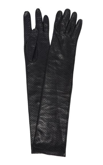Moda Operandi Acne Studios Arlette Leather Gloves