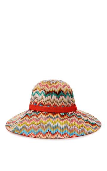 Missoni Mare Chevron-knit Sunhat