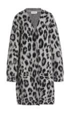 Moda Operandi Monse Long Cheetah Mohair Cardigan