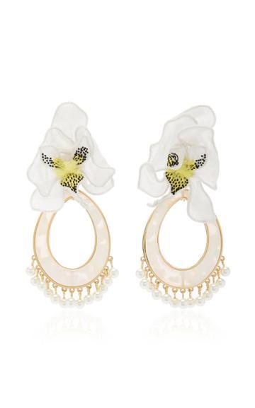 Moda Operandi Mignonne Gavigan Orchid Swing Earring
