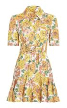 Moda Operandi Zimmermann Poppy Belted Mini Dress