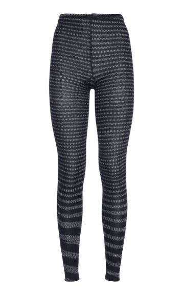 Moda Operandi Missoni Striped Wool-blend Footless Tights