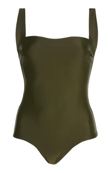 Moda Operandi Matteau Square-neck One-piece Swimsuit