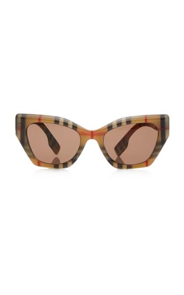 Burberry Vintage Check Butterfly Acetate Sunglasses