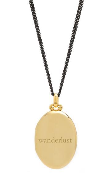 Monica Rich Kosann Custom Four Image Premier Locket 32 Necklace