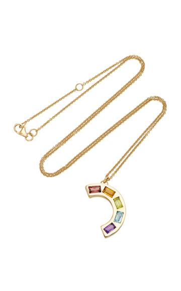 Brent Neale M'o Exclusive Large Deconstructed Rainbow Necklace