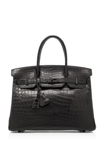 Heritage Auctions Special Collection Hermes 30cm So Black Niloticus Crocodile Birkin