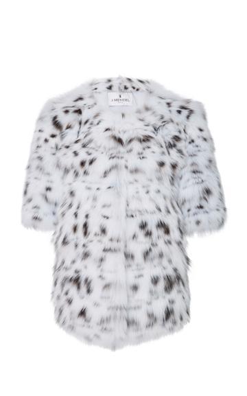 J. Mendel Lynx Belly Jacket