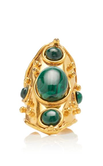 Sylvia Toledano Byzance Malachite Ring