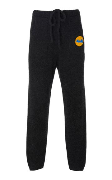 The Elder Statesman Patch Cashmere Joggers