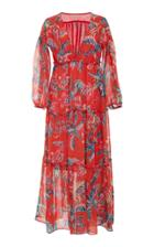 Banjanan Scarlet Vneck Maxi Dress