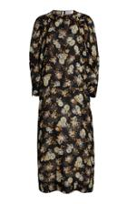 Moda Operandi Victoria Beckham Printed Silk Midi Dress