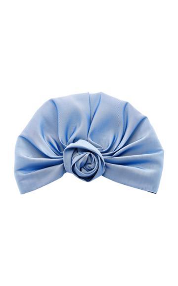 Jennifer Behr Rosette Silk-satin Headwrap