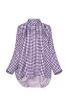 Dice Kayek Printed Collared Shirt