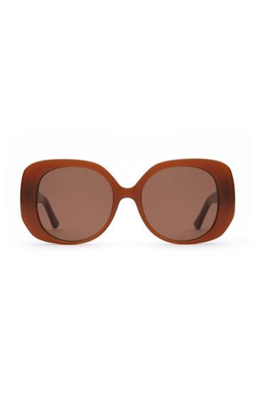 Velvet Canyon The Rendezvous Round-frame Acetate Sunglasses