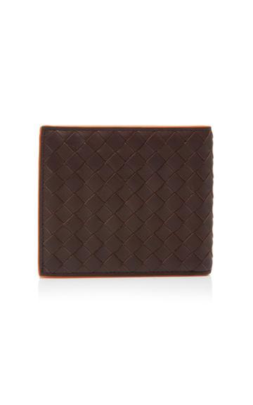 Bottega Veneta Two-tone Intrecciato Leather Wallet