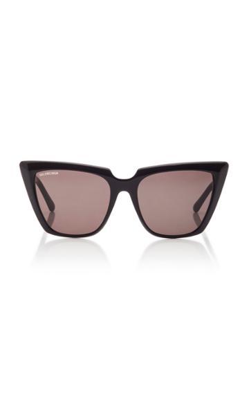 Balenciaga Tortoiseshell Acetate Square-frame Sunglasses