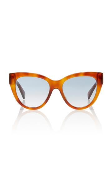 Gucci Sunglasses Tortoiseshell Acetate Cat-eye Sunglasses