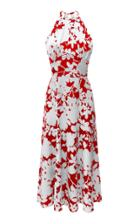 Rasario Printed Satin Dress