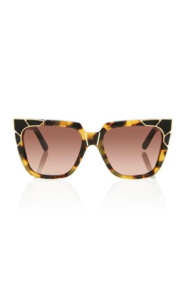 Pared Eyewear Charlie & The Angels Tortoise Acetate Sunglasses