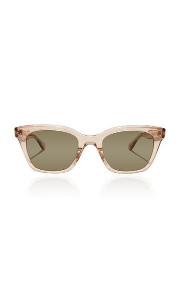 Garrett Leight + Clare V. Nouvelle 48 Square-frame Acetate Sunglasses