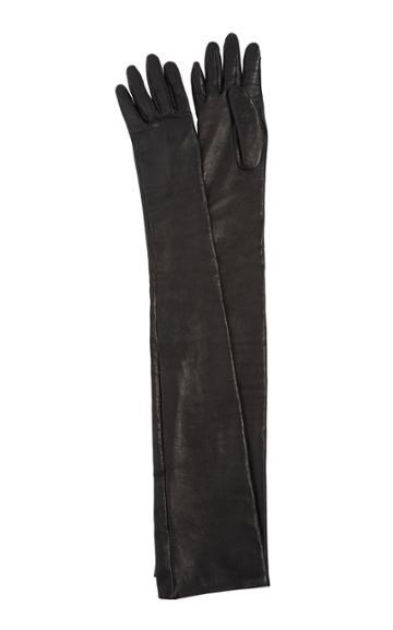 Balmain Leather Gloves