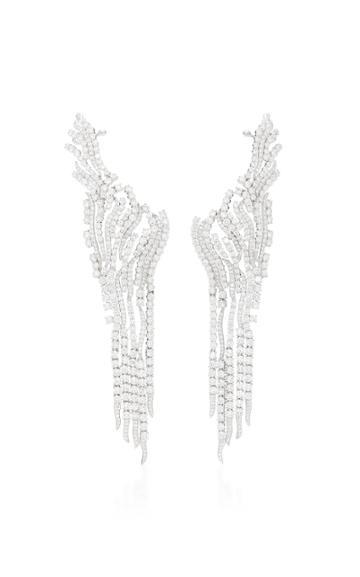 Hueb Hueb Classic 18k White Gold And Diamond Earrings