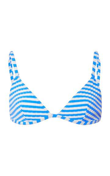 Solid & Striped Lulu Striped Bikini Top