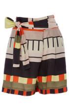 Apiece Apart Baja Abstract Printed Wrap Shorts